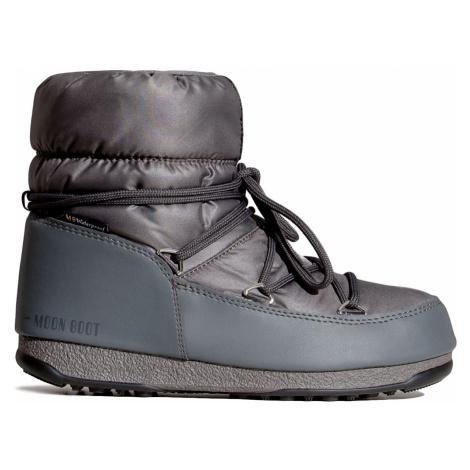 Boty Moon Boot LOW NYLON WP 2 šedá