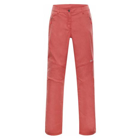 ALPINE PRO MURIA 3 Dámské softshellové kalhoty LPAN307339 tmavě oranžová
