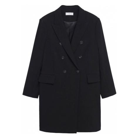 MANGO Přechodný kabát 'LETI' černá