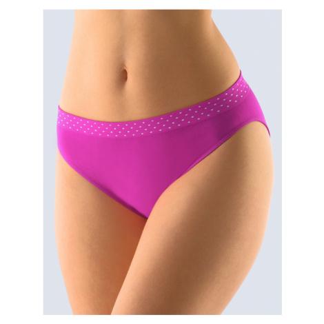 GINA Dámské kalhotky klasické s úzkým bokem 00033-MFEMxB fialová