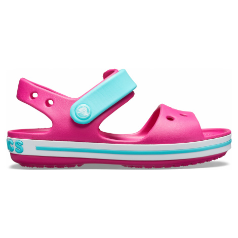 Crocs Crocband Sandal Kids Candy Pink/Pool J3