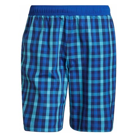 Adidas Classic-Length Check Swim Shorts Mens
