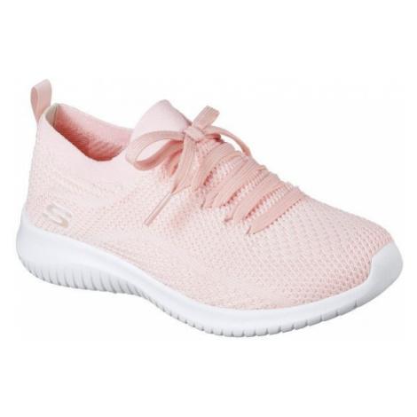 Skechers ULTRA FLEX světle růžová - Dámské nízké tenisky