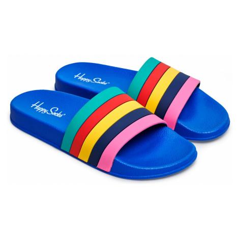 Pool Slider Stripes Happy Socks