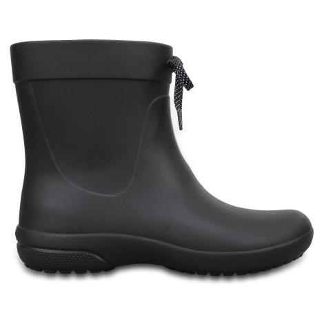 Crocs Crocs Freesail Shorty RainBoot - Black W6