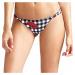 Guess dámské plavky spodní díl kostka - Vícebarevné