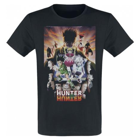 Hunter x Hunter Poster tricko černá