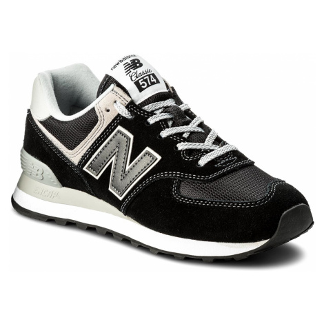 Sneakersy NEW BALANCE - ML574EGK Černá Šedá
