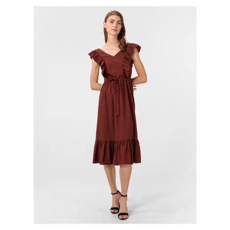 Odette Šaty Vero Moda Červená