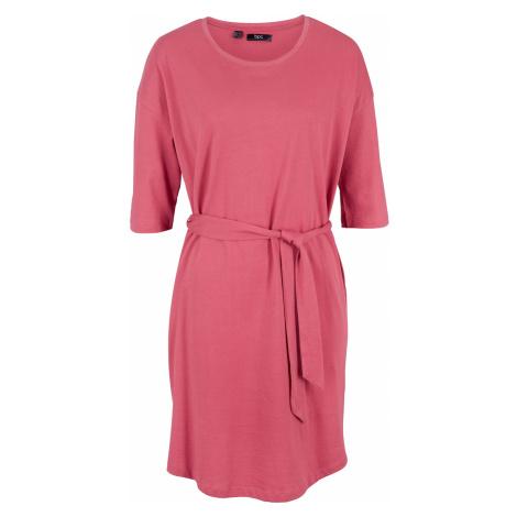 Bavlněné šaty Oversized, krátký rukáv Bonprix