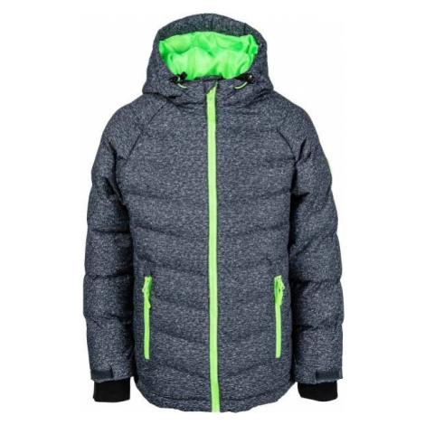 Lewro NIKA zelená - Dětská zimní bunda