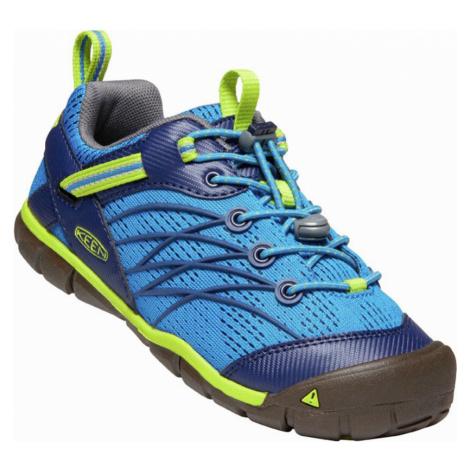 KEEN CHANDLER CNX JR. Dětská obuv 10012528KEN01 brilliant blue/blue depths