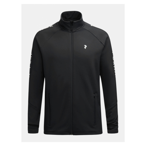 Mikina Peak Performance M Rider Zip Jacket - Černá