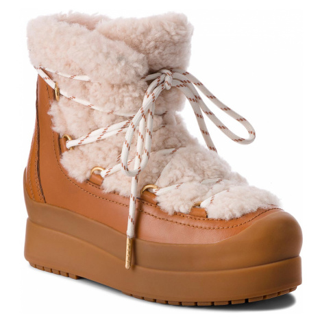 Tory Burch Courtney 60Mm Shearling Boot 50059