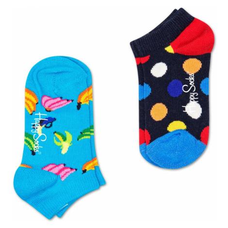 2-Pack Big Dot Low Socks Happy Socks