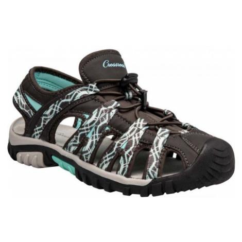 Crossroad MEMORA šedá 37 - Dámské sandály
