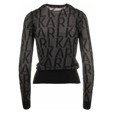 Karl Lagerfeld dámský svetr černý