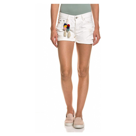 Dámské trhané džínové kraťasy PL800691 Pepe Jeans
