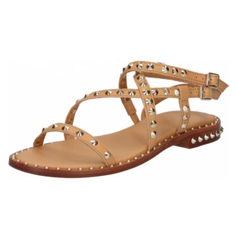 ASH Páskové sandály 'Petra' světle béžová