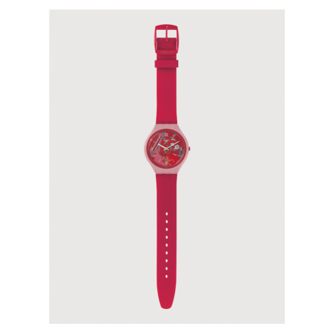 Hodinky Swatch Růžová
