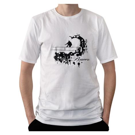 Pánské tričko Barrsa Skater WHT