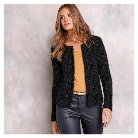 Blancheporte Jemný svetr/paleto černá