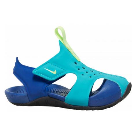 Nike SUNRAY PROTECT 2 TD modrá - Dětské sandály
