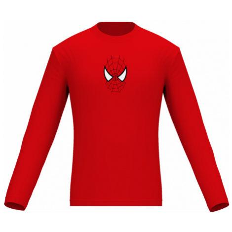 Pánské tričko dlouhý rukáv Spiderman