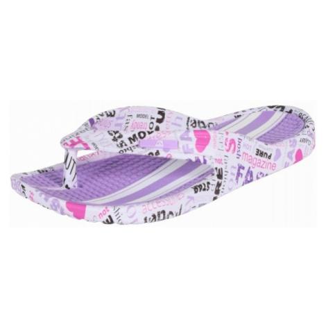 ALPINE PRO GLATIRA fialová - Dámská letní obuv