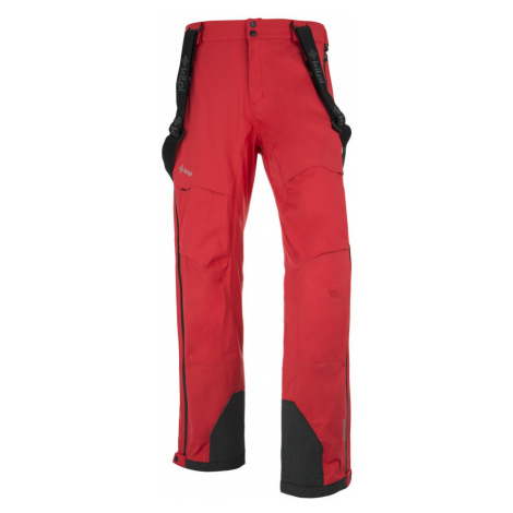 KILPI Pánské lyžařské kalhoty LAZZARO DM0126KIRED Červená