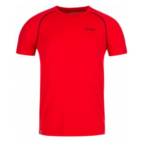 KILPI Pánské funkční triko BORDER-M KM0055KIRED Červená