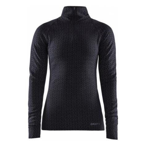 Dámské tričko CRAFT Merino 240 Zip LS černá