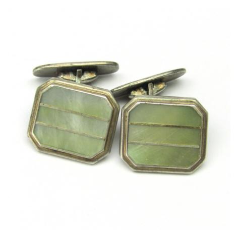 AutorskeSperky.com - Stříbrné manžetové knoflíky - S2083