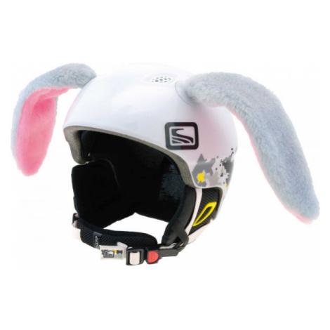 Crazy Ears KRÁLIK VELKÝ šedá - Uši na helmu