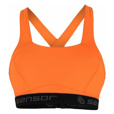 STELLA COMPRESS Sportovní podprsenka 17200062 oranžová Sensor
