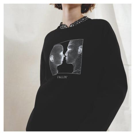 Cropp - Ladies` sweatshirt - Černý