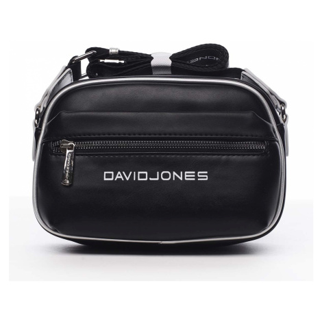 Dámská crossbody kabelka černá - David Jones Jolanis