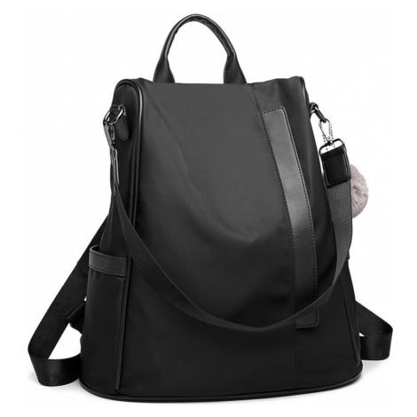 Černý originální moderní batoh Bradyn Lulu Bags