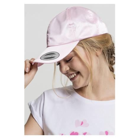 Low Profile Satin Cap - light pink Urban Classics