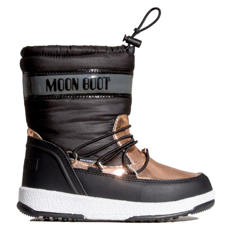 Boty Moon Boot JR GIRL SOFT WP černá