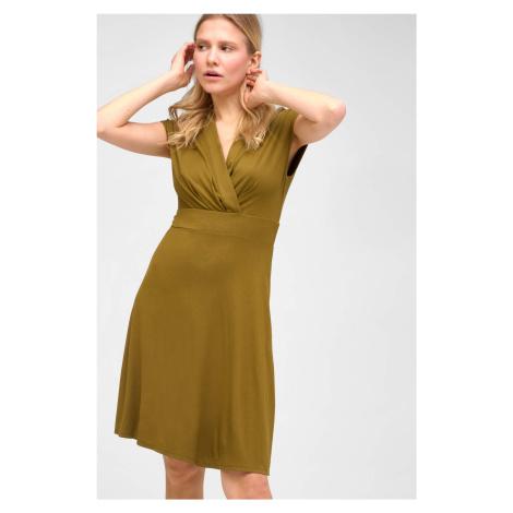 Zavinovací šaty z viskózy Orsay
