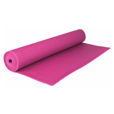 Fitforce YOGA MAT 180X61X0,4 růžová - Cvičební podložka
