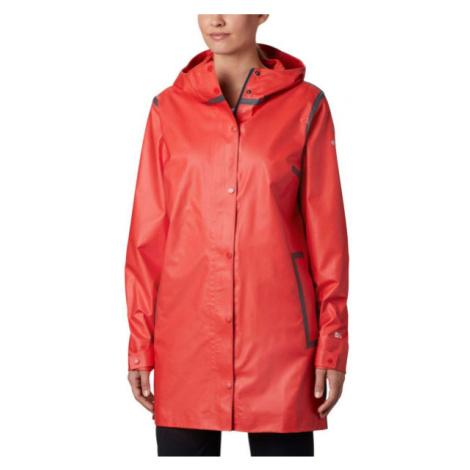 Columbia OUTDRY EX™ MACKINTOSH JACKET červená - Dámský kabát