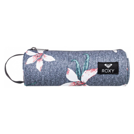 Pouzdro Roxy Off The Wall charcoal heather flower field