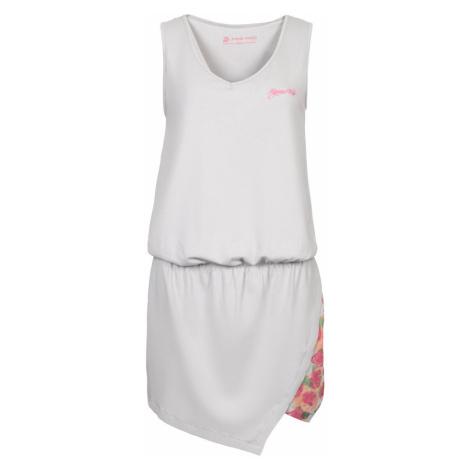 ALPINE PRO YAVARA 2 Dámské šaty LSKL095773PA šedá