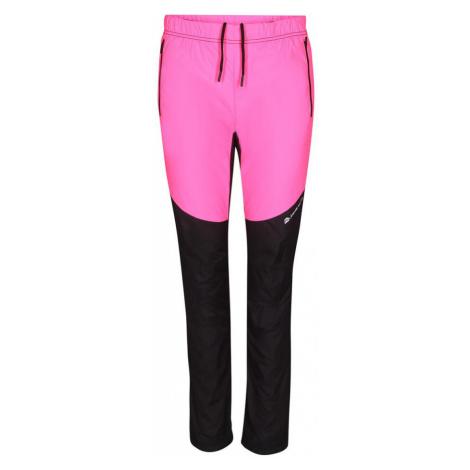 ALPINE PRO HUWA 2 Dámské kalhoty LPAP344452 růžová