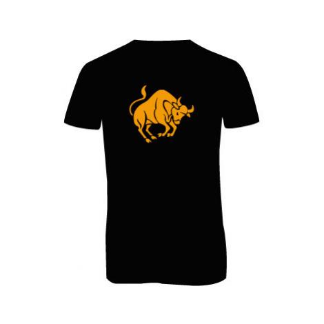 Pánské triko s výstřihem do V Býk