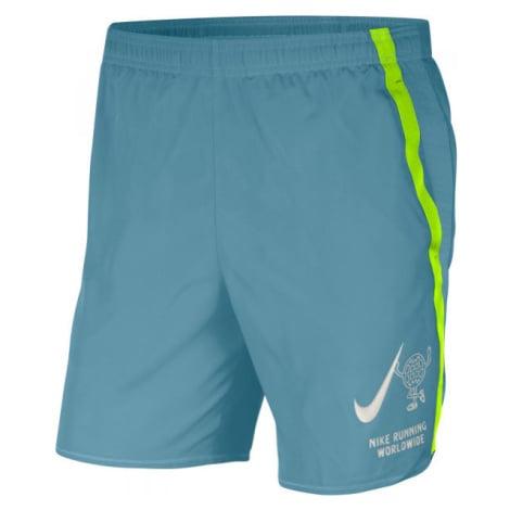 Nike CHALLENGER modrá - Pánské běžecké šortky
