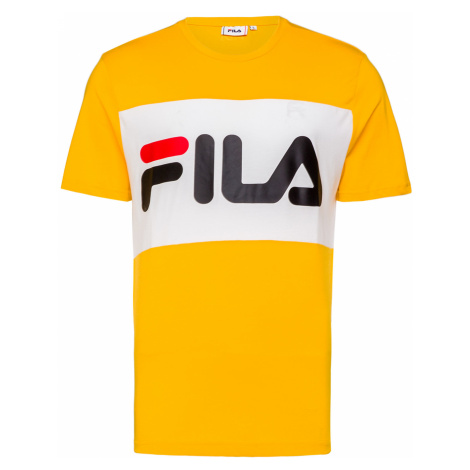 Tričko Fila DAY bílá|Żółty