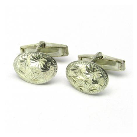 AutorskeSperky.com - Stříbrné manžetové knoflíky - S2081